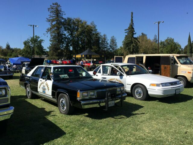 Police Cars - 1991 & 1993 California Highway Patrol Cars for