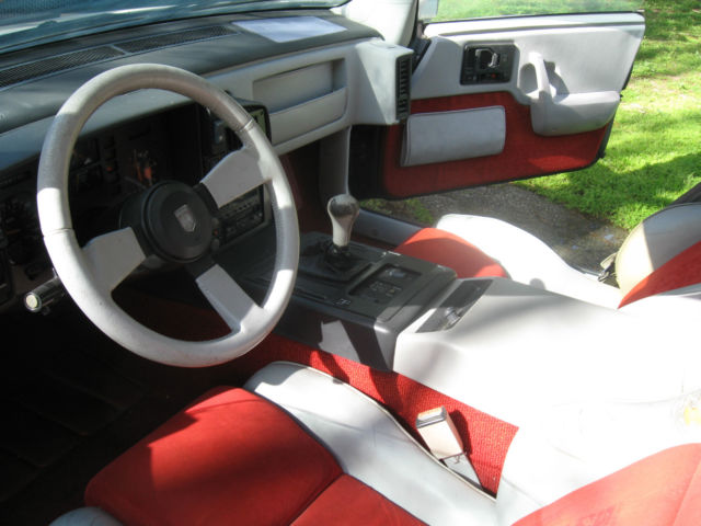 PONTIAC FIERO Indy 500 PACE CAR # 408 4 speed manual for sale