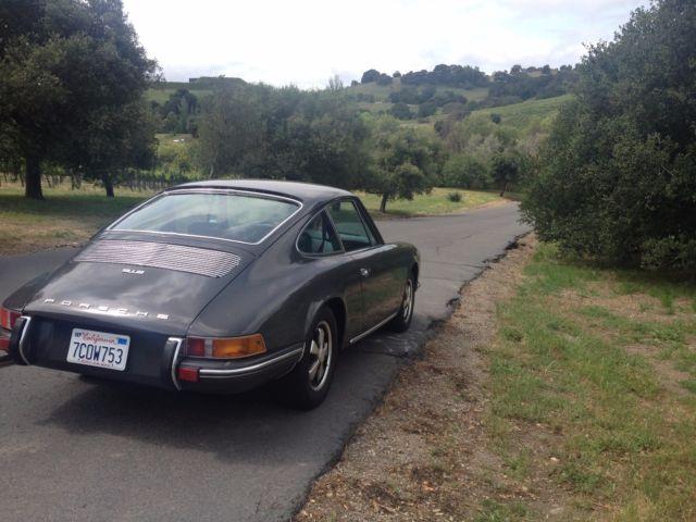 Porsche 912, Slate Gray, Matching Numbers for sale - Porsche 912
