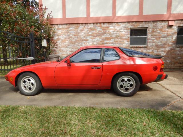 Catalytic Converter Buyers >> Porsche 924S - 1987 for sale - Porsche 924 924S 1987 for sale in Houston, Texas, United States