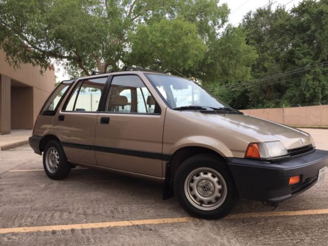 pristine 1986 honda civic wagovan for sale honda civic. Black Bedroom Furniture Sets. Home Design Ideas