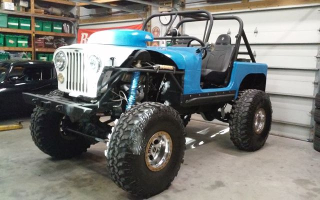 pro built custom 84 jeep cj7  454 big block chevy on dana