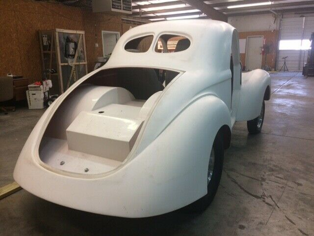 Project Car: 1941 Willys Coupe - Fiberglass body for sale - Willys
