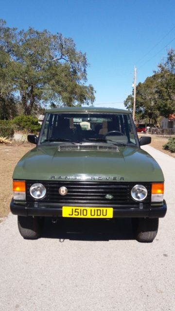 range rover classic 200 tdi turbo diesel 5 speed not one in usa for sale land. Black Bedroom Furniture Sets. Home Design Ideas