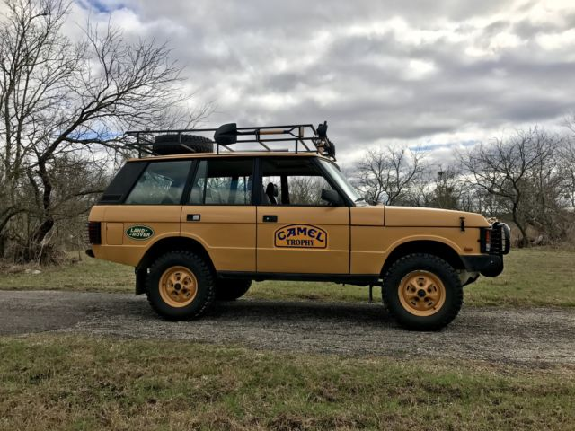 Range Rover Classic Camel Trophy Replica For Sale Land
