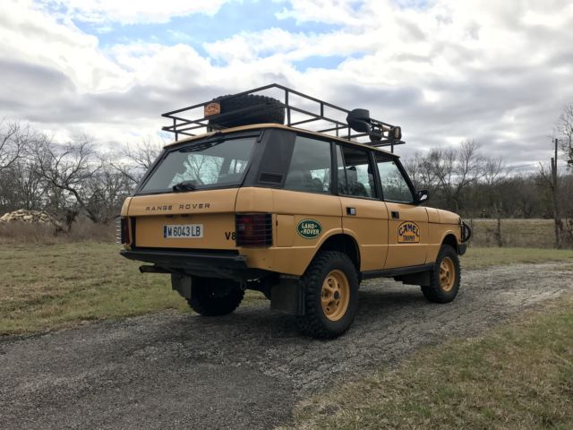 Range Rover Classic Camel Trophy Repllica For Sale Land