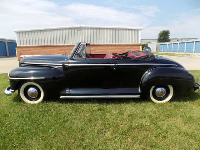 rare 1948 plymouth deluxe special convertible older. Black Bedroom Furniture Sets. Home Design Ideas