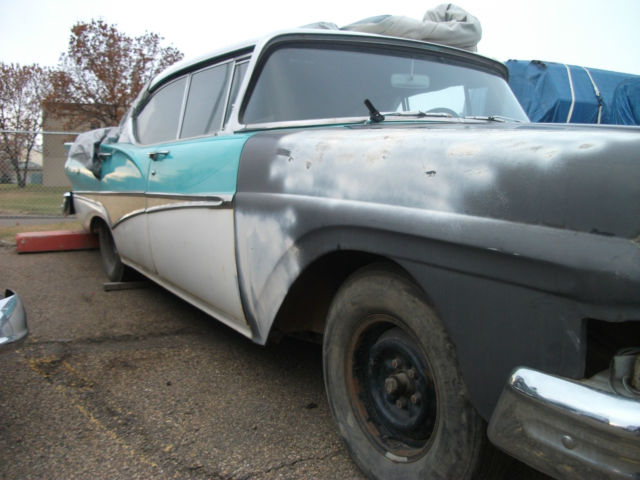 Vehicles Other Automobiles For Sale In Victoria Bc: RARE 1958 METEOR RIDEAU 500 VICTORIA 4 Door Hardtop.2932