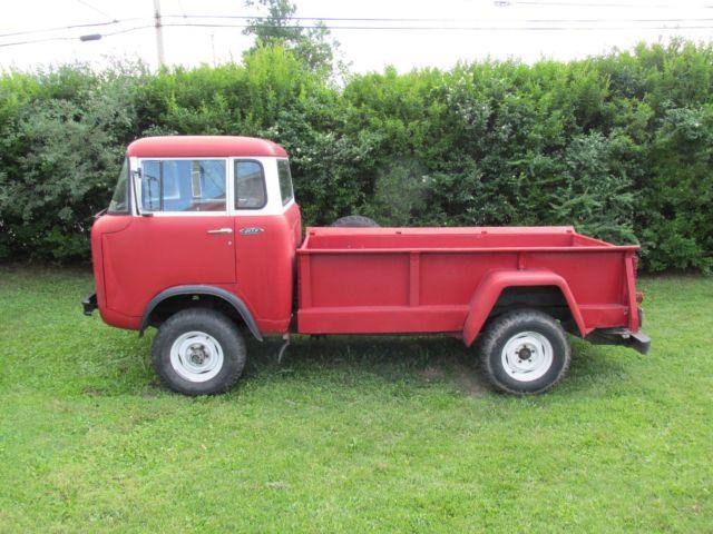 rare 1962 jeep fc 170 forward control 4x4 truck 77k miles orig bed runs good for sale jeep fc. Black Bedroom Furniture Sets. Home Design Ideas