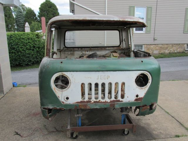 rare 1963 jeep fc 170 forward control 4x4 truck parts project car almost complet for sale jeep. Black Bedroom Furniture Sets. Home Design Ideas