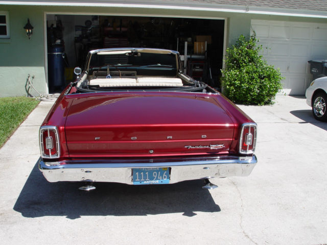 rare 1966 ford fairlane 500 convertible for sale ford fairlane 1966 for sale in winter haven. Black Bedroom Furniture Sets. Home Design Ideas