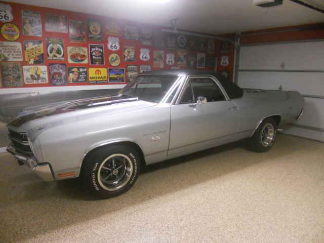 rare 1970 454 ss el camino with factory air for sale chevrolet el camino 1970 for sale in. Black Bedroom Furniture Sets. Home Design Ideas