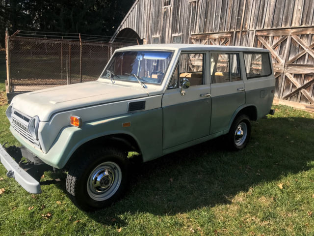 rare 1970 toyota land cruiser fj55 86k miles 3spd 4x4 working rear window for sale toyota land. Black Bedroom Furniture Sets. Home Design Ideas