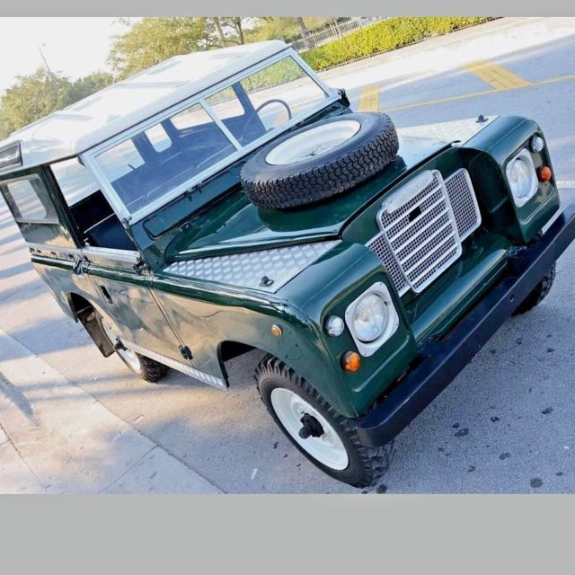 RARE 1971 Land Rover Series IIA (DEF) Diesel LHD 4 Speed