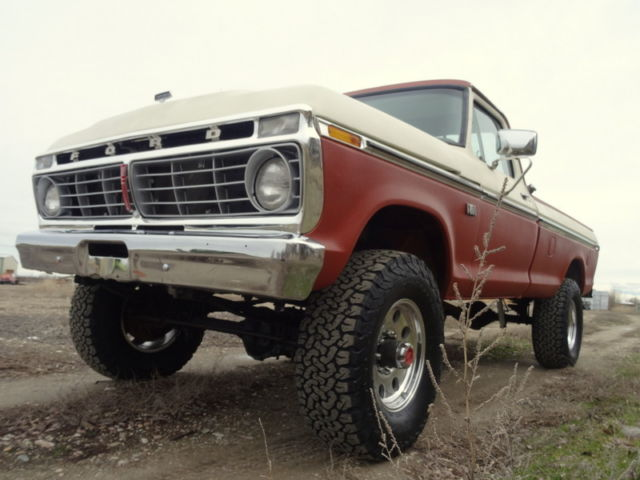 rare 1975 ford f250 highboy 4x4 for sale ford f 250 f250 highboy 1975 for sale in caldwell. Black Bedroom Furniture Sets. Home Design Ideas