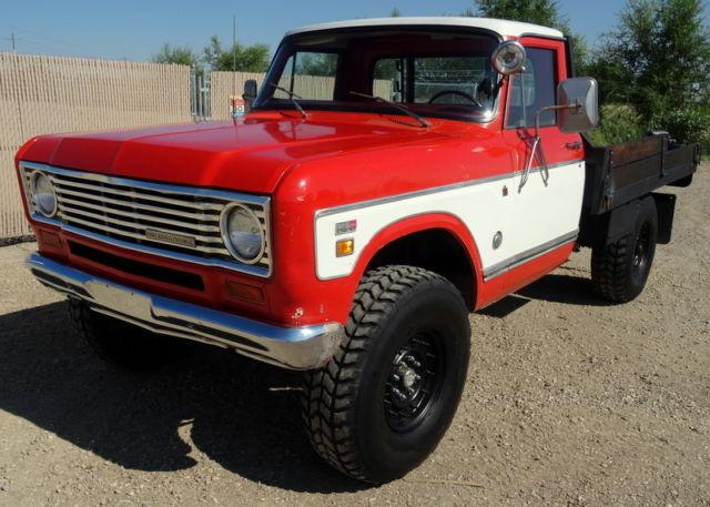 3 Quarter Ton Truck >> RARE 1975 International Harvester 200 4x4, Factory 3/4 ton, 5 speed, 392 V8, 73K for sale ...