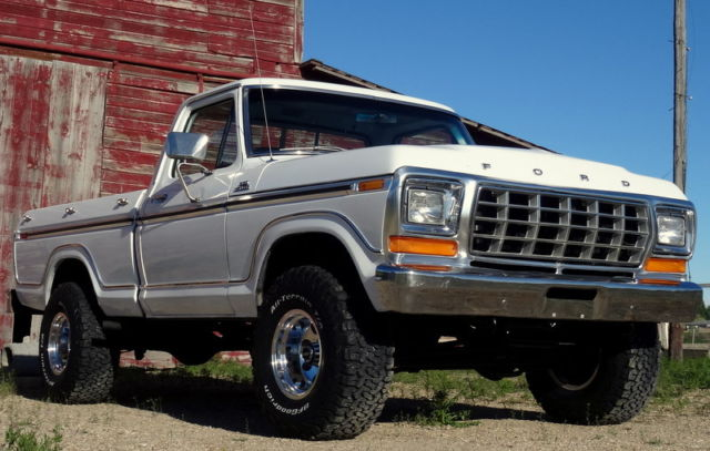 RARE 1979 Ford F150 Ranger 4x4, Shortbox, 2 Owner for sale ...