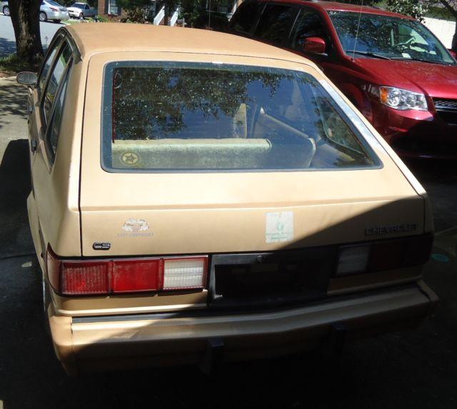 Rare 1985 Chevrolet Chevette, 4 Door, Survivor Car For