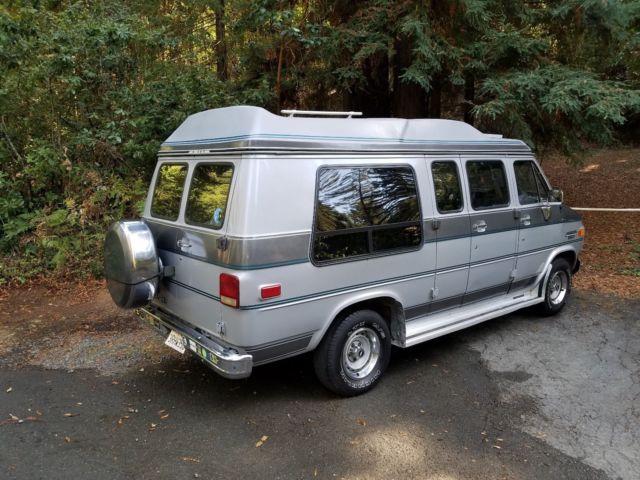 Rare 1986 Chevy G20 Conversion Van - LOW RESERVE for sale