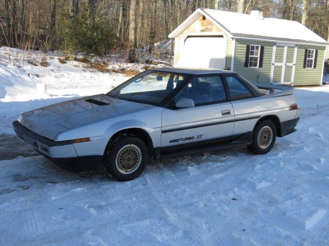 rare 1986 subaru xt coupe awd turbo 5 speed original survivor period body kit for sale. Black Bedroom Furniture Sets. Home Design Ideas