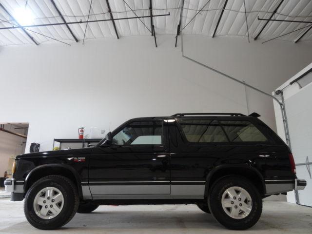 RARE 1989 Chevrolet Blazer S10 4x4, Sport edition, 79K ...