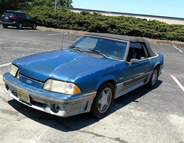 rare 1993 ford mustang gt convertible for sale ford mustang 1993 for sale in matawan new. Black Bedroom Furniture Sets. Home Design Ideas