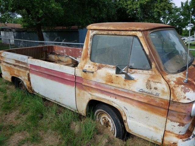 RARE BARN FIND!! CHEVY RAMPSIDE PICKUP - 1961 CORVAIR ...