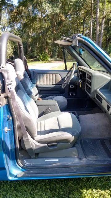 RARE CONVERTIBLE DAKOTA PICK-UP for sale - Dodge Dakota 1990