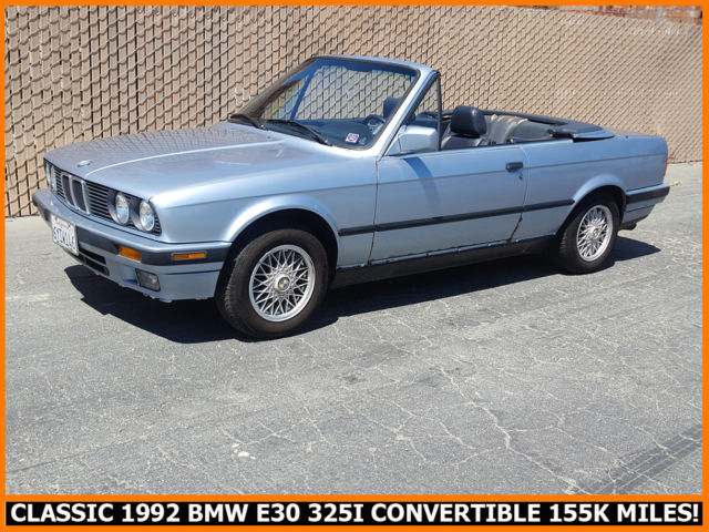 Rare Cool Classic 1992 Bmw E30 325i Convertible  Only 155k