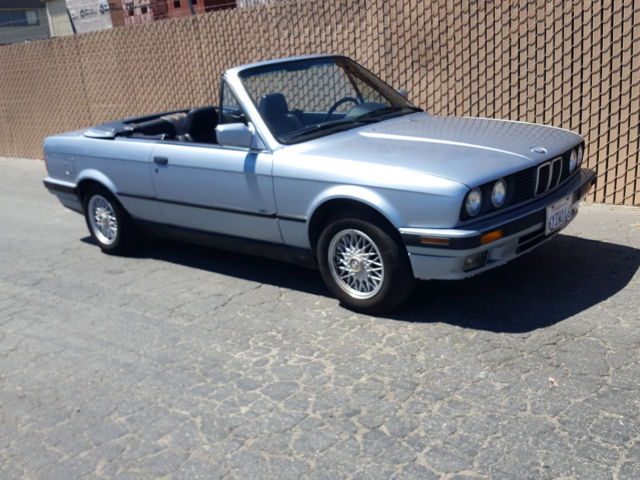 rare cool classic 1992 bmw e30 325i convertible only 155k 2 owner miles for sale bmw 3. Black Bedroom Furniture Sets. Home Design Ideas