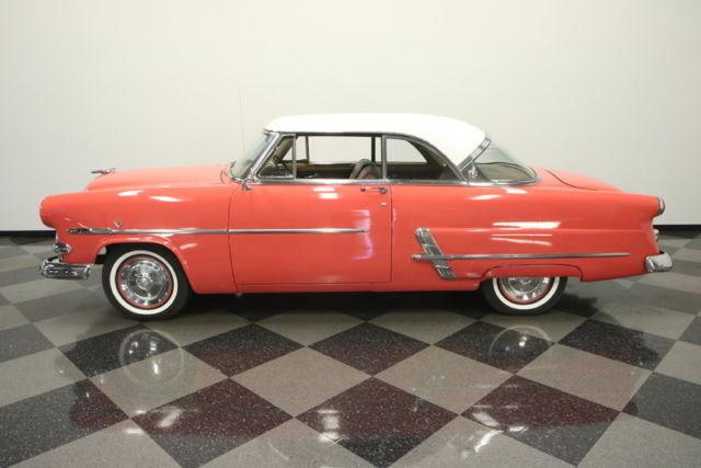 Rare crestline victoria hardtop factory colors 239 for 1953 ford crestline victoria 2 door hardtop