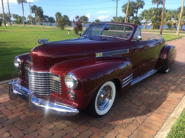 Rare Resto-mod *** 1941 Cadillac Convertible *** Will Not