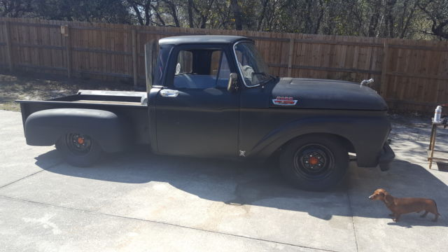 rat rod 1963 ford f100 6 cylinder 223 very nice for sale. Black Bedroom Furniture Sets. Home Design Ideas