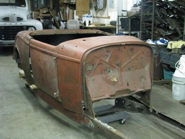 Real 1932 Ford Roadster Body & Frame w/ Title for sale - Ford ...