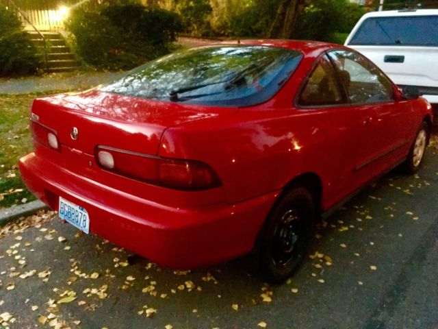 Red 1994 Acura Integra Ls 2d Coupe 107k Mls 2cyl 1 8l Manual Guide