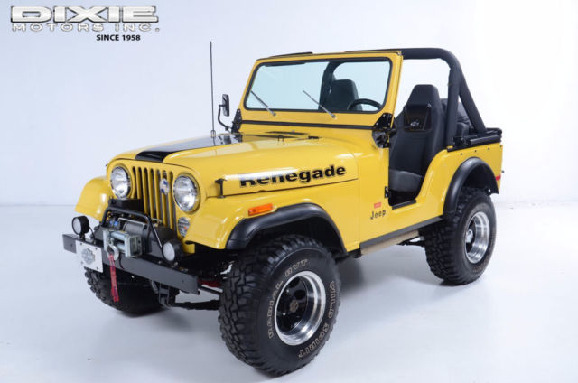 Lock Out Kit For Cars >> Renegade Levi Edition Restored V8 3 speed V8 3 speed manual 4WD Restored Levi E for sale - Jeep ...
