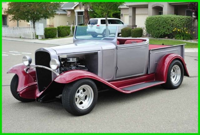 restomod 1933 chevy pickup truck roadster convertible 350 4sp ford 9