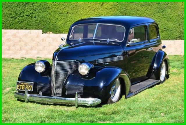 Restomod 1939 Chevy 2dr Sedan 454 400 Fatman Suspension Air Ride Ps Pdb Ac Tilt For Sale Chevrolet 2 Door Sedan 1939 For Sale In Danville California United States