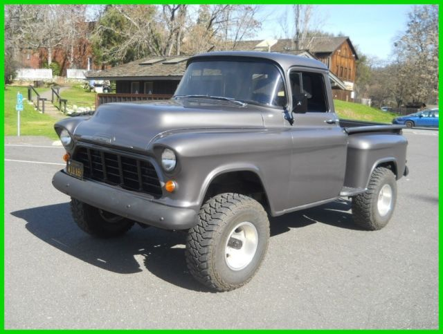 Restomod 1956 Chevy 3100 Pickup Truck 4wd 4x4 Gmc