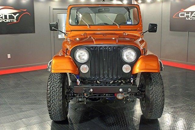 Restomod Jeep Cj
