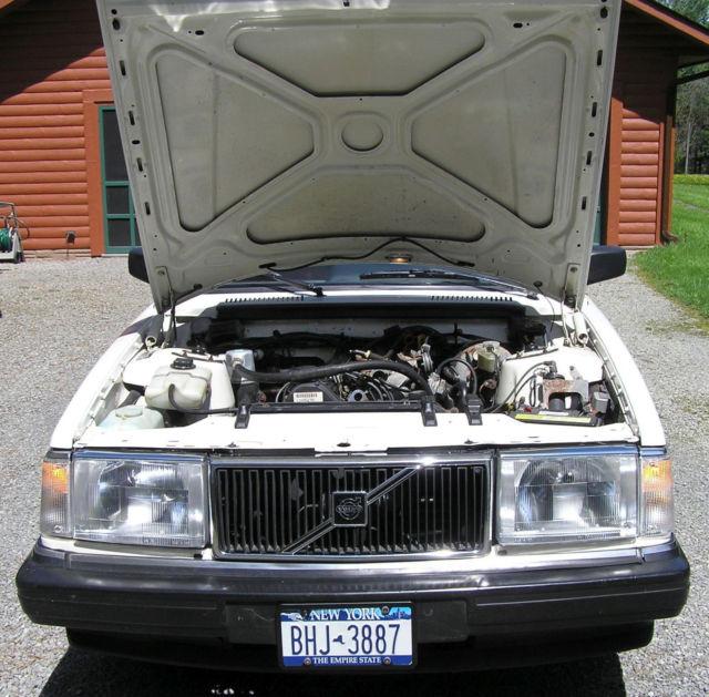 Restored 1991 Volvo 240 Sedan (244) For Sale