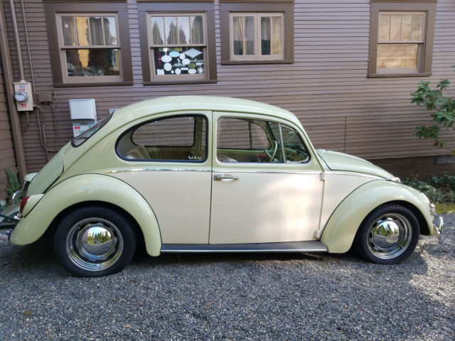 restored lowered 1967 volkswagen beetle with 1964 front. Black Bedroom Furniture Sets. Home Design Ideas