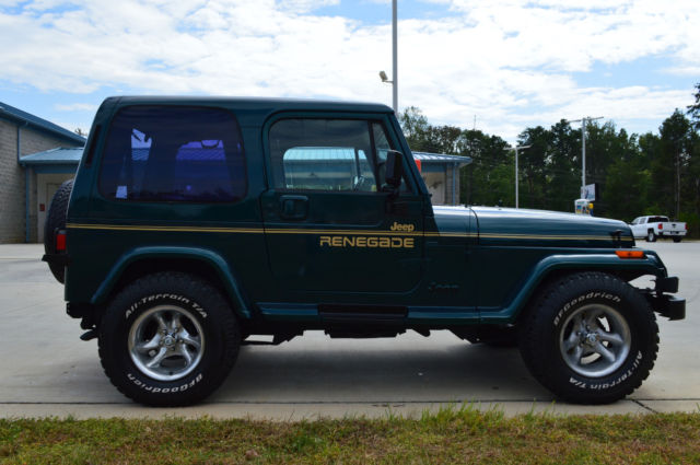 restored jeep wrangler yj with renegade decals hard top. Cars Review. Best American Auto & Cars Review