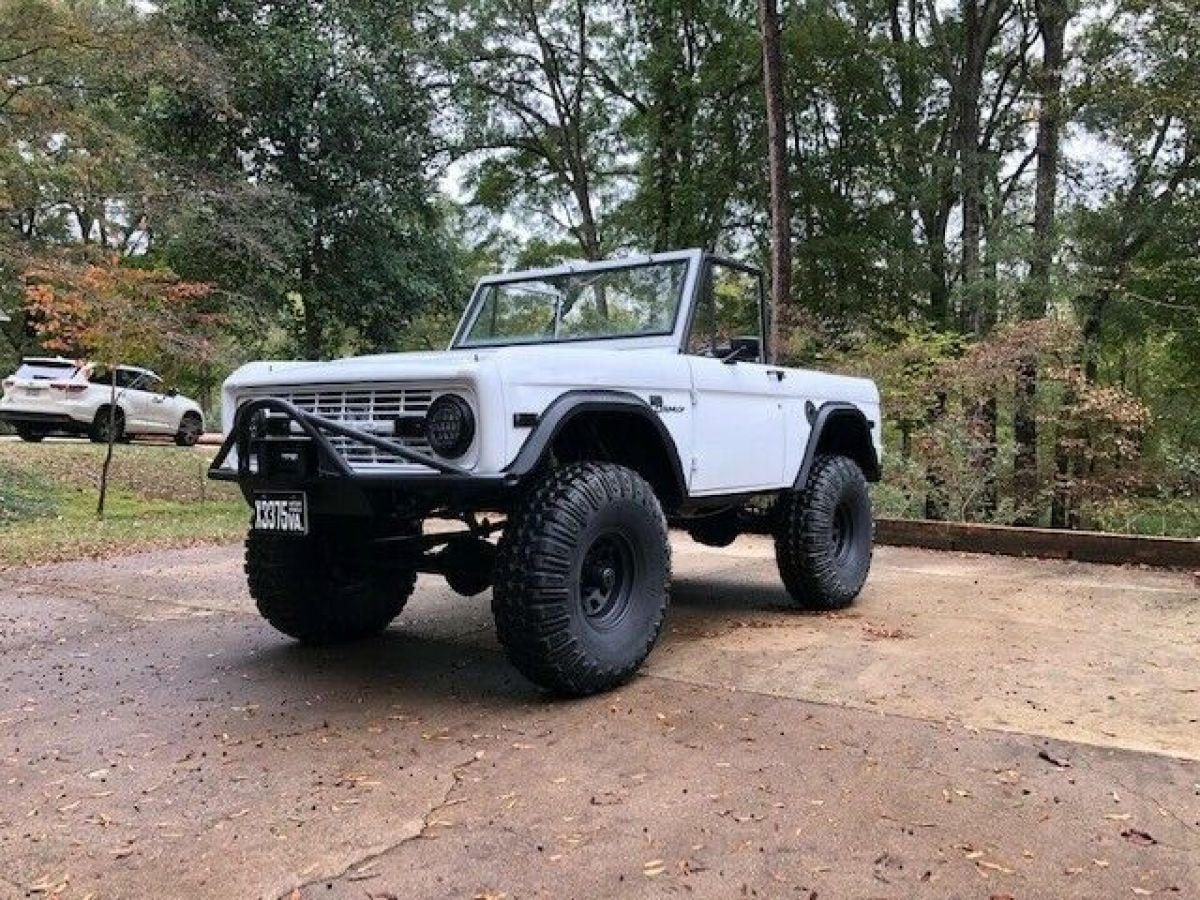 Restored Lifted 1975 Ford Bronco Sport For Sale Ford Bronco Sport 1975 For Sale In Charlotte North Carolina United States