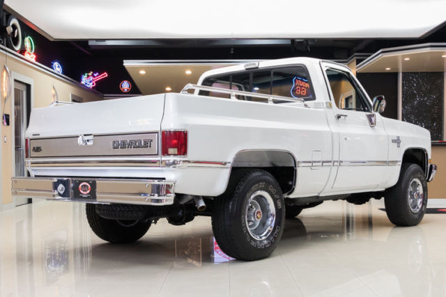 Restored Silverado 4x4 Gm 350ci V8 700r4 Automatic Ps