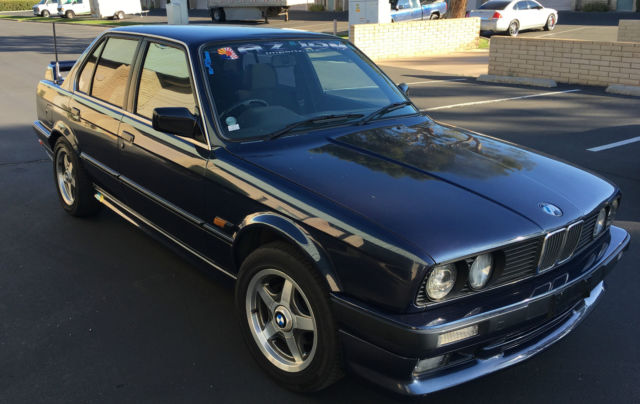 right hand drive 1991 bmw 320i e30 m sport for sale bmw 3 series e30 1991 for sale in. Black Bedroom Furniture Sets. Home Design Ideas