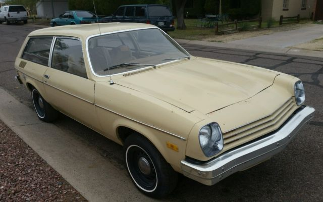 rust free 1977 chevrolet vega kammback wagon v8 ready for. Black Bedroom Furniture Sets. Home Design Ideas