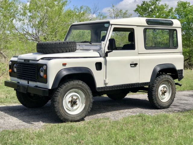 rust free driver for sale land rover defender 1991 for. Black Bedroom Furniture Sets. Home Design Ideas