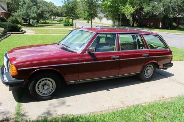 Rust Free Mercedes Benz 1985 300TD Station Wagon (California) With Perfect  Seats