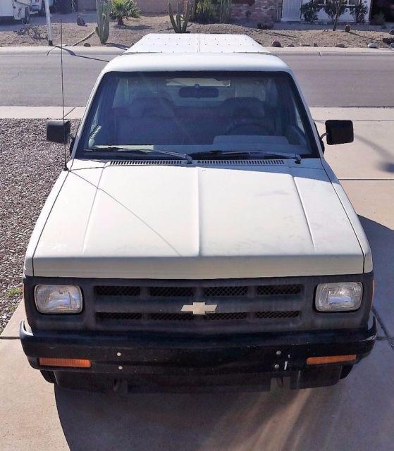 Chevrolet Camper Shell: Rust Free Very Clean AZ Truck